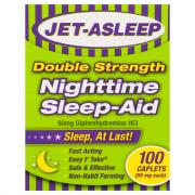 Jet-Asleep Double Strength Nighttime Sleep-Aid