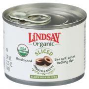 Lindsay Organic Sliced Black Ripe Olives