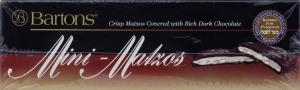 Barton's Mini Matzos Dark Chocolate