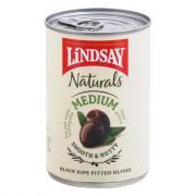 Lindsay Naturals Medium Pitted Black Ripe Olives