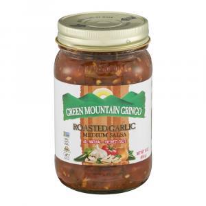 Green Mountain Gringo Fire Roasted Garlic Salsa