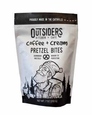 Outsiders Coffee and Cream Pretzel Bites