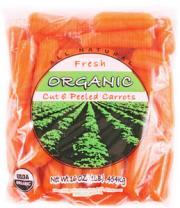 Organic Baby Peeled Carrots