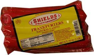 Shields Natural Casing Red Franks