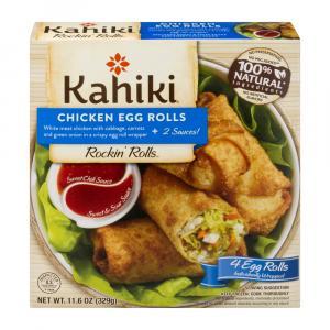 Kahiki Chicken Egg Rolls