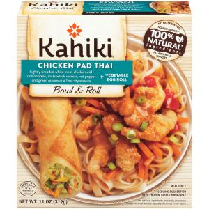 Kahiki Chicken Pad Thai & Vegetable Egg Roll Bowl