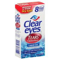 Clear Eyes Tears & Redness Relief Liquid Gel