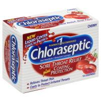 Chloraseptic Liquid Center Cherry Sore Throat Lozenges