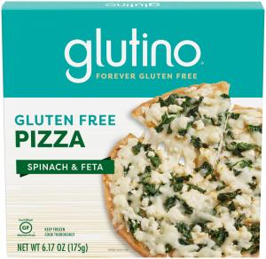 Glutino Gluten Free Spinach and Feta Pizza