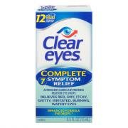 Clear Eyes Complete Eye Drops