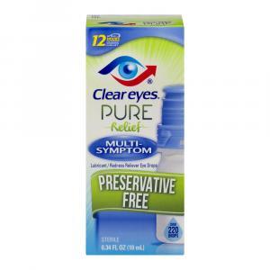 Clear Eyes Pure Relief Multi-Symptom