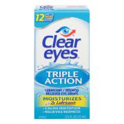Clear Eyes Triple Action Relief Drops
