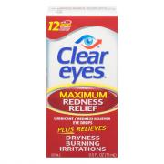 Clear Eyes Maximum Red Relief Drops