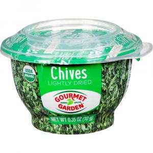 Gourmet Garden Lightly Dried Chives Bowl