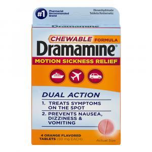 Dramamine Chewable Travel Size