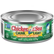 Chicken of the Sea Low Sodium Chunk Light Tuna in Water