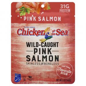 Chicken of the Sea Boneless & Skinless Pink Salmon Pouch