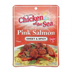 Chicken Of The Sea Sweet & Spicy Pink Salmon