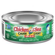 Chicken of the Sea Chunk Light Tuna in Oil