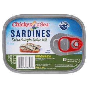 Chicken of the Sea Sardines in Extra Virgin Olive Oil