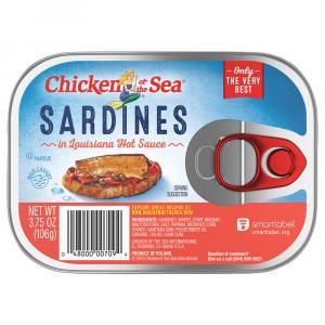 Chicken of the Sea Sardines in Louisiana Hot Sauce