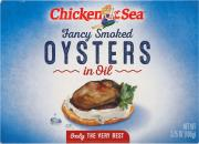 Chicken of The Sea Smoked Oysters