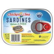 Chicken of the Sea Sardines in Lemon & EVOO