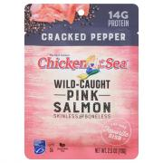 Chicken of the Sea Cracked Pepper Pink Salmon Pouch