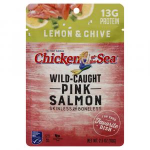 Chicken of the Sea Lemon & Chive Pink Salmon Pouch