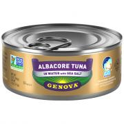 Genova Albacore Tuna In Water With Sea Salt