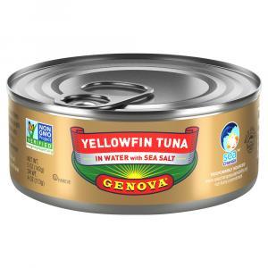 Genova Yellowfin Tuna in Water With Sea Salt