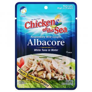 Chicken of the Sea White Albacore Tuna in Water Pouch