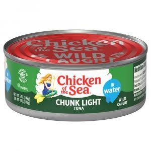 Chicken of the Sea Chunk Light Tuna in Water