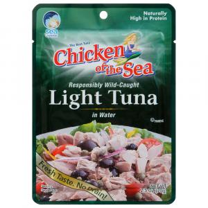 Chicken of the Sea Light Tuna in Water Pouch