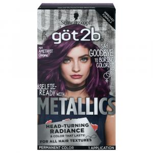 Schwarzkopf Got2B Amethyst Chrome Hair Color