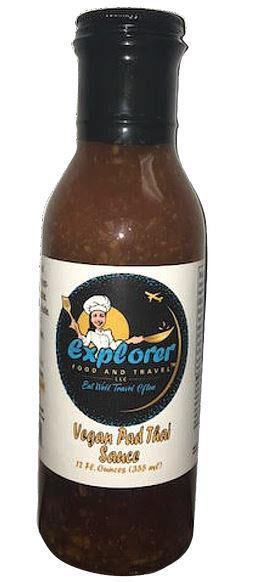 Explorer Food and Travel Vegan Pad Thai Sauce