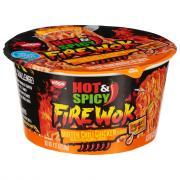 Nissin Hot & Spicy Fire Wok Molten Chili Chicken