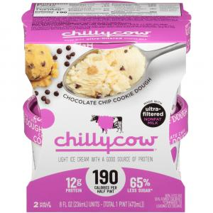 Chilly Cow Chocolate Chip Cookie Dough Ice Cream