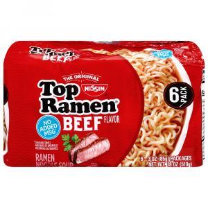 Top Ramen Beef Noodles