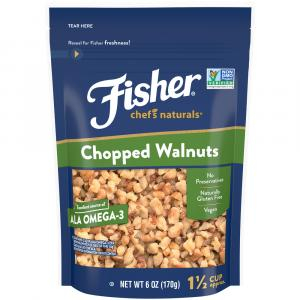 Fisher Chef's Naturals Chopped Walnuts