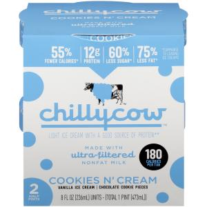 Chilly Cow Cookies N' Cream Ice Cream