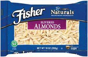 Fisher Blanched Slivered Almonds