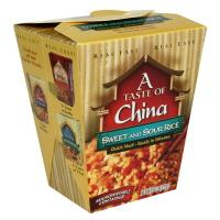 A Taste Of China Sweet & Sour Rice Quick Meal