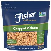 Fisher Chef's Natural Chopped Walnuts
