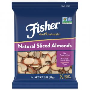 Fisher Chefs Natural Sliced Almonds
