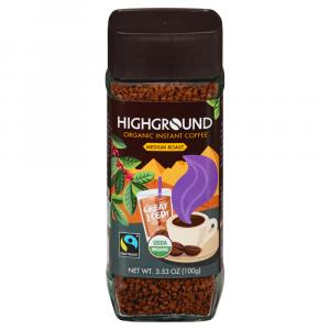 Highground Organic Instant Coffee