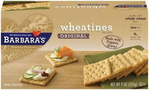 Barbara's Bakery Wheatines Salted Tops