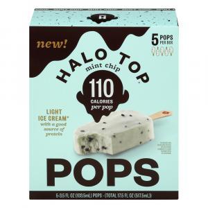 Halo Top Pops Mint Chip Light Ice Cream