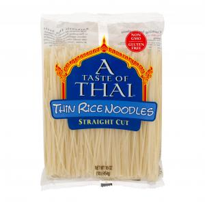 A Taste of Thai Thin Rice Noodles