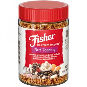 Fisher Nut Topping With Peanuts